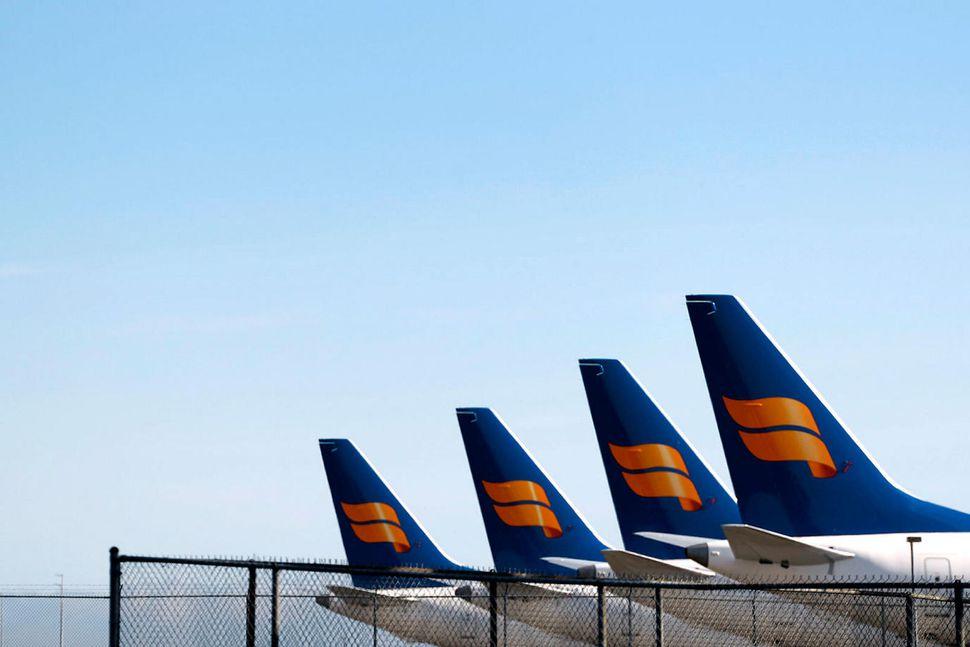 Flugvélar Icelandair.