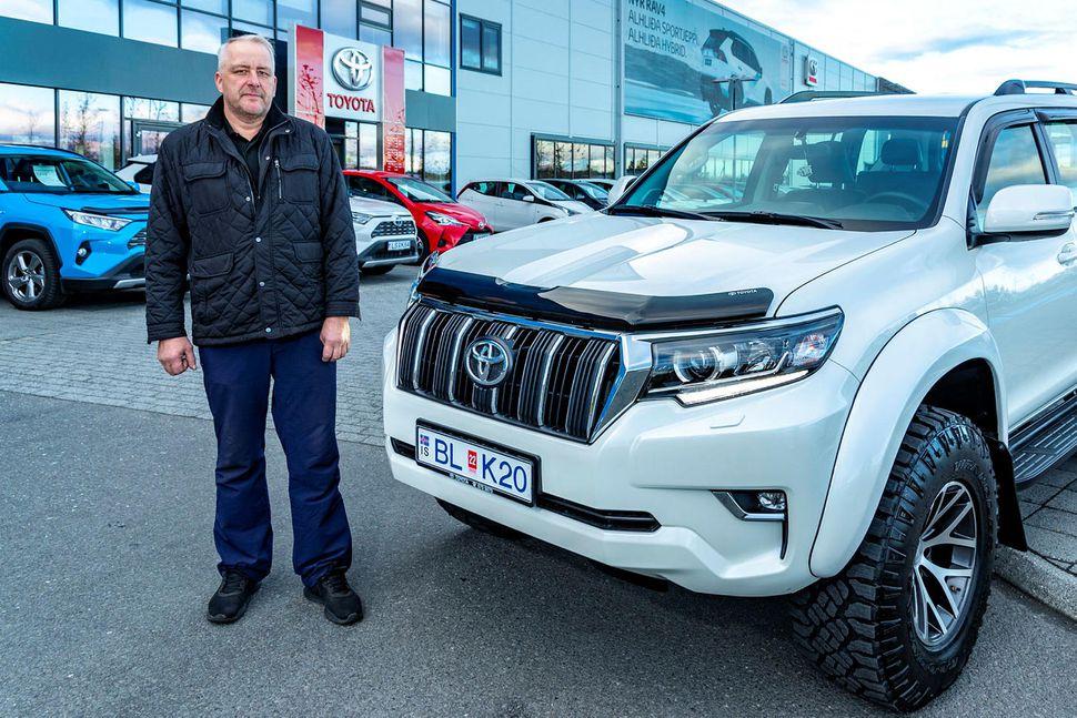 Nýjasti Land Cruiser Tryggva verður á sögusýningu hjá Toyota í ...