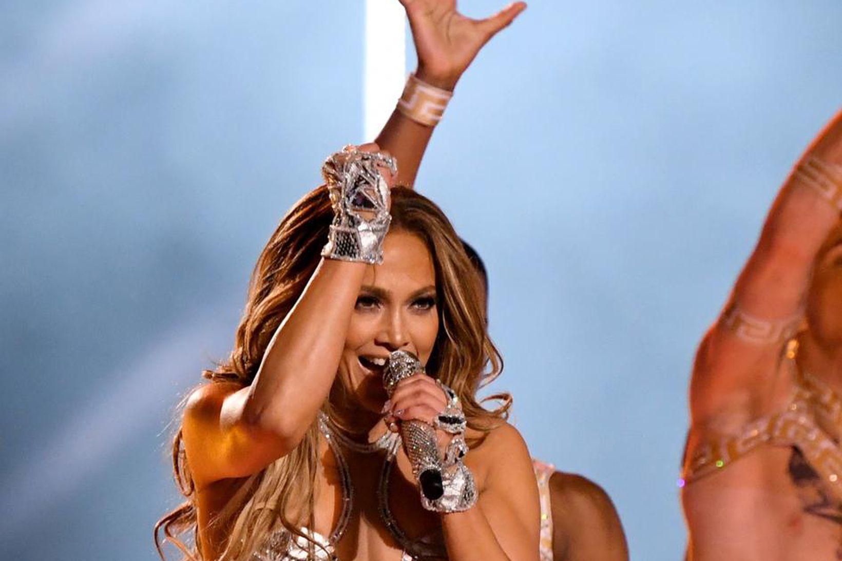 Jennifer Lopez á tónleikum árið 2020.