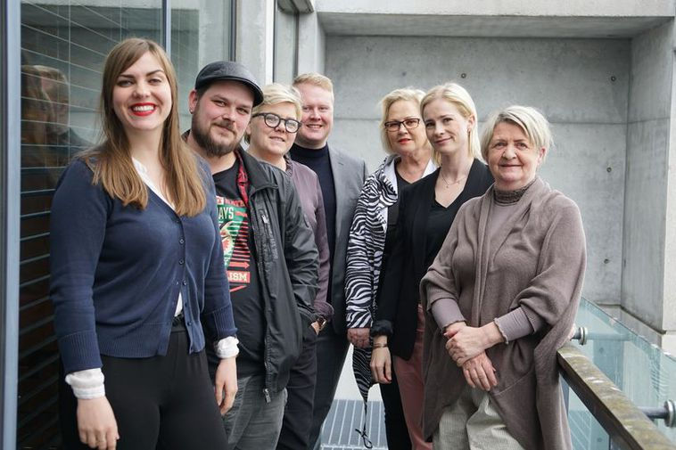Members of Reykjavík City's Human Rights and Democracy Council.