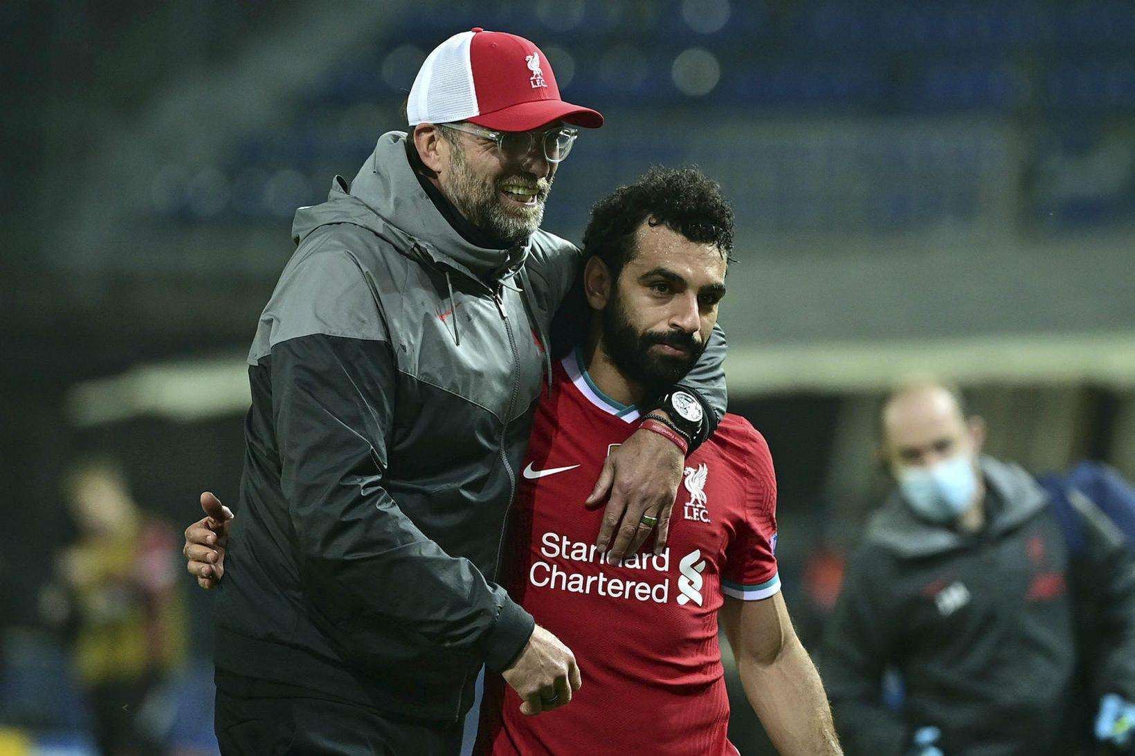 Jürgen Klopp og Mohamed Salah fá krefjandi verkefni í 3. …
