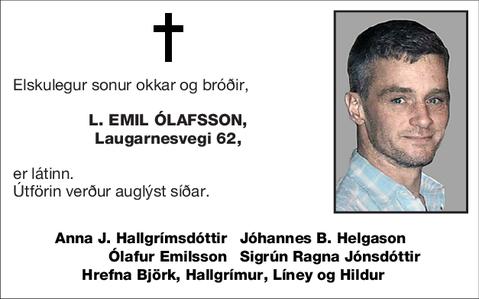L. Emil Ólafsson,