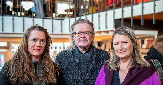 Alda Björk, Guðni Elísson og Steinunn Sigurðardóttir.