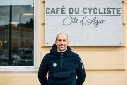 Rémi Clermont, annar stofnenda Cafe du Cycliste kaffihússins og fatamerksins sem ber sama nafn. Líklegast …