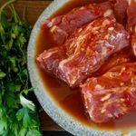 Grillað lambaprime í sætri chili-sósu