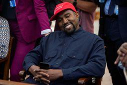 Kanye West er mættur með börnunum sínum fjórum í frí til Mexíkóborgar