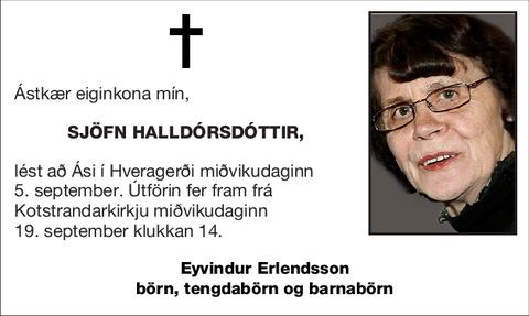 Sjöfn Halldórsdóttir,