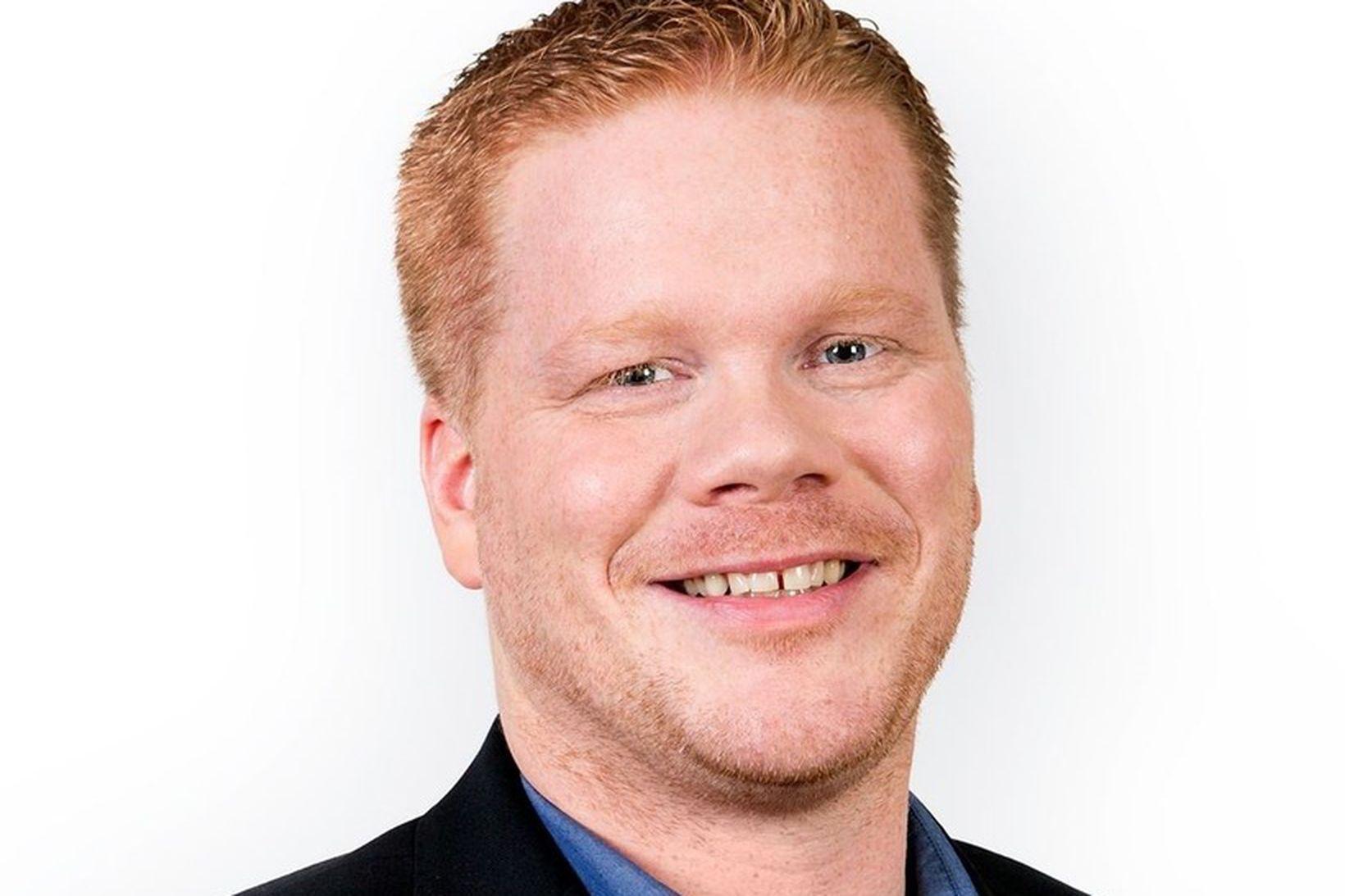 Valdimar Víðisson skólastjóri Öldutúnsskóla.
