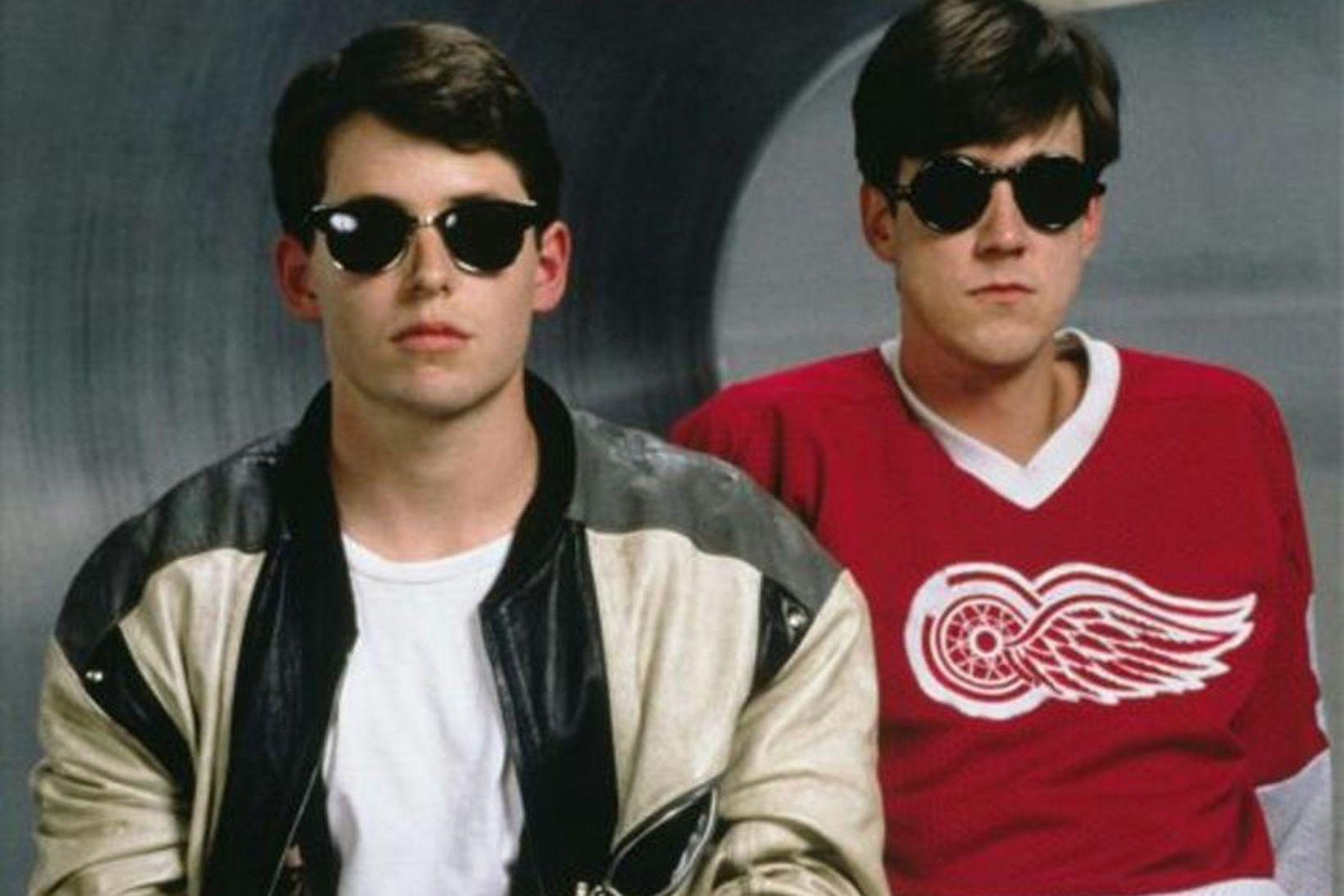Ferris Bueller var ekki beint veikur þegar hann tók sér …