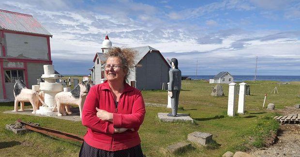 Aðalheiður S. Eysteinsdóttir í Selárdal.