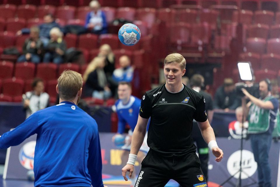 Viktor Gísli Hallgrímsson er klár í slaginn.
