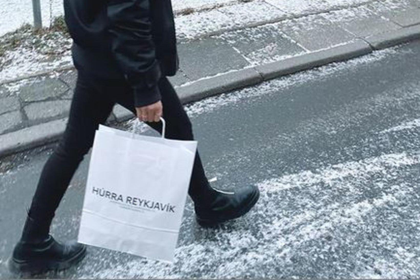 Húrra Reykjavík var eitt sjö fyrirtækja sem Kristín Péturs auglýsti …
