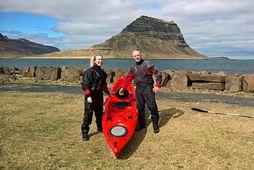 Una Rut Ploder og Garðar Hafsteinsson eru bjartsýn á ferðasumarið.