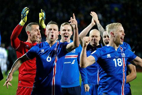 "A lot of Icelanders want to support ""our boys"" at the FIFA World Cup in Russia 2018."