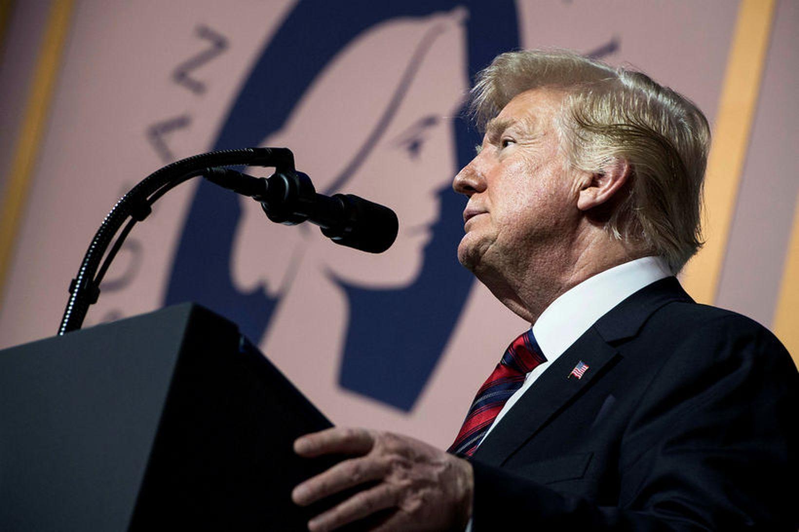 Trump hefur farið hörðum orðum um Dodd-Frank-löggjöfina.