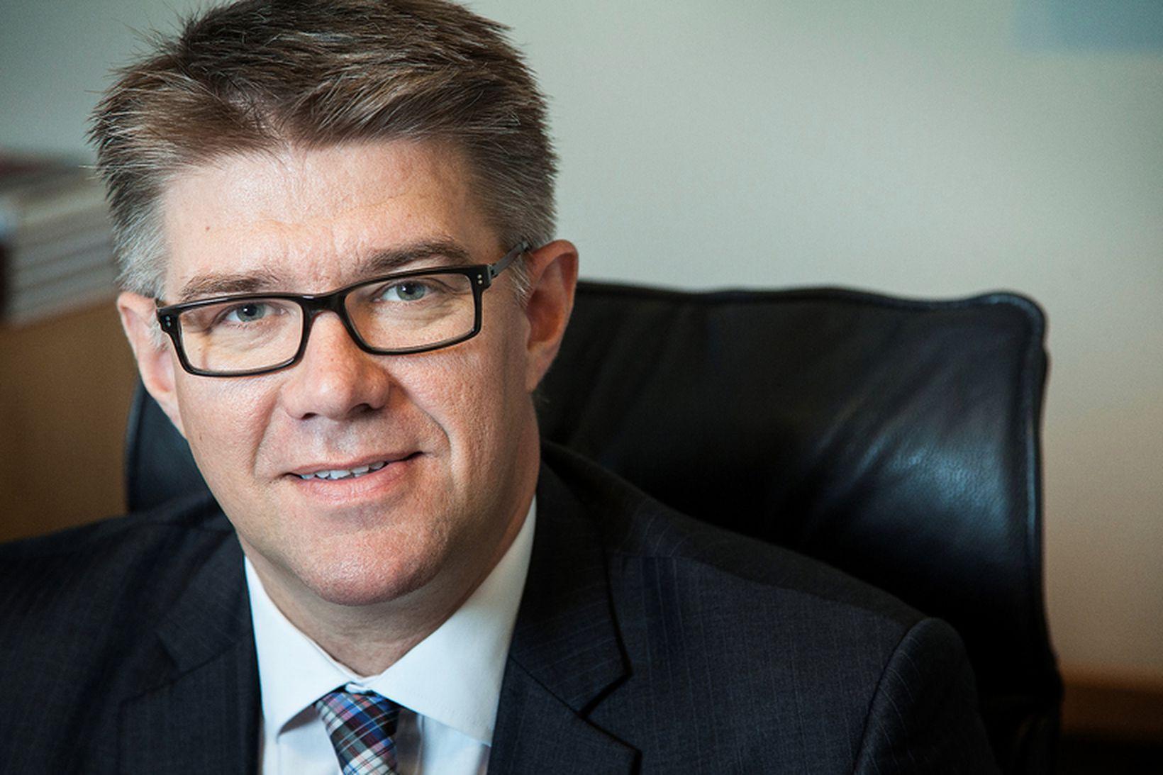 Gunnar Bragi Sveinsson utanríkisráðherra