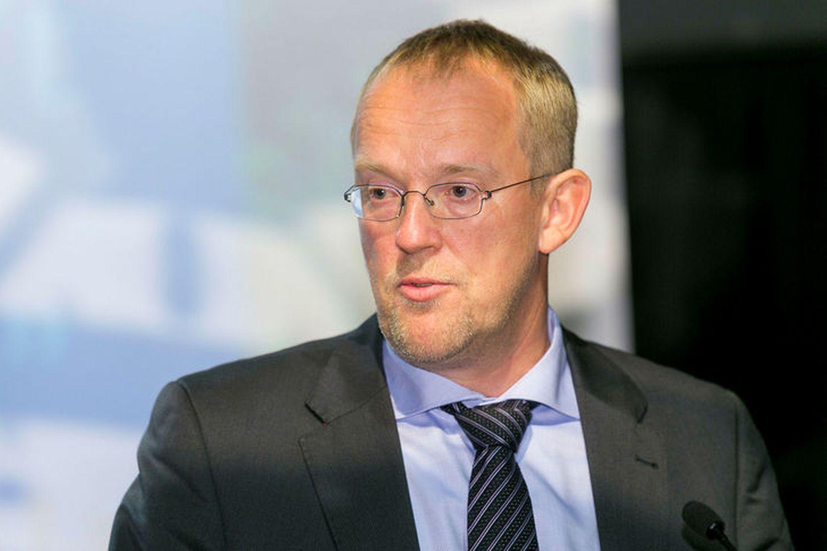 Páll Gunnar Pálsson forstjóri Samkeppniseftirlitsins.