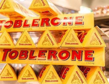 Toblerone verður aftur eins og áður.