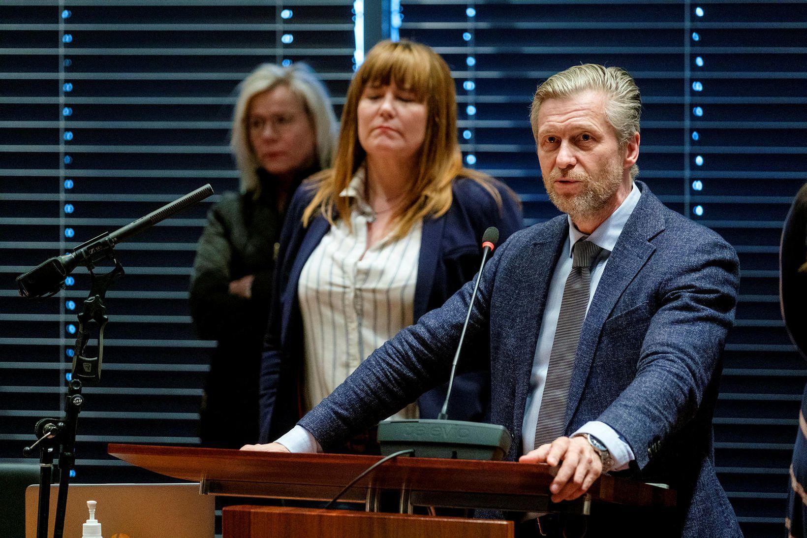 Eyþór Laxdal Arnalds, oddviti Sjálfstæðisflokksins í borgarstjórn Reykjavíkur.