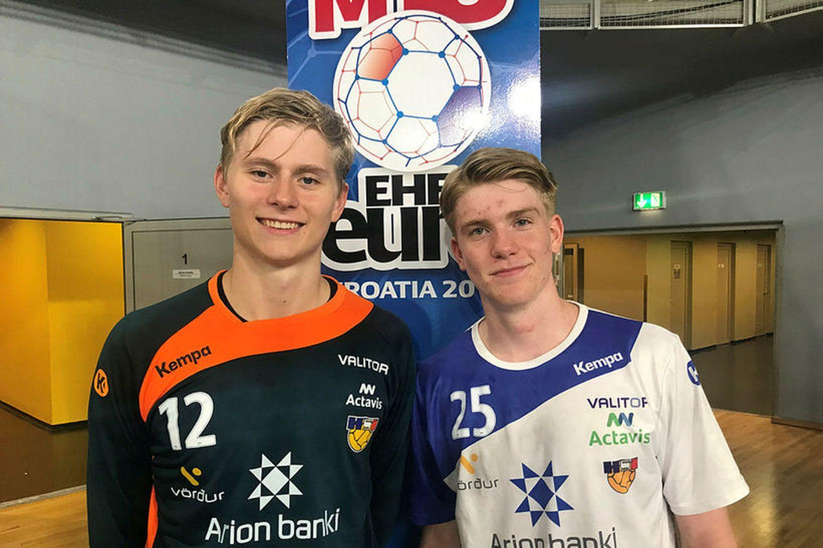 Viktor Gísli Hallgrímsson er í U21 árs landsliðshópnum en Haukur …