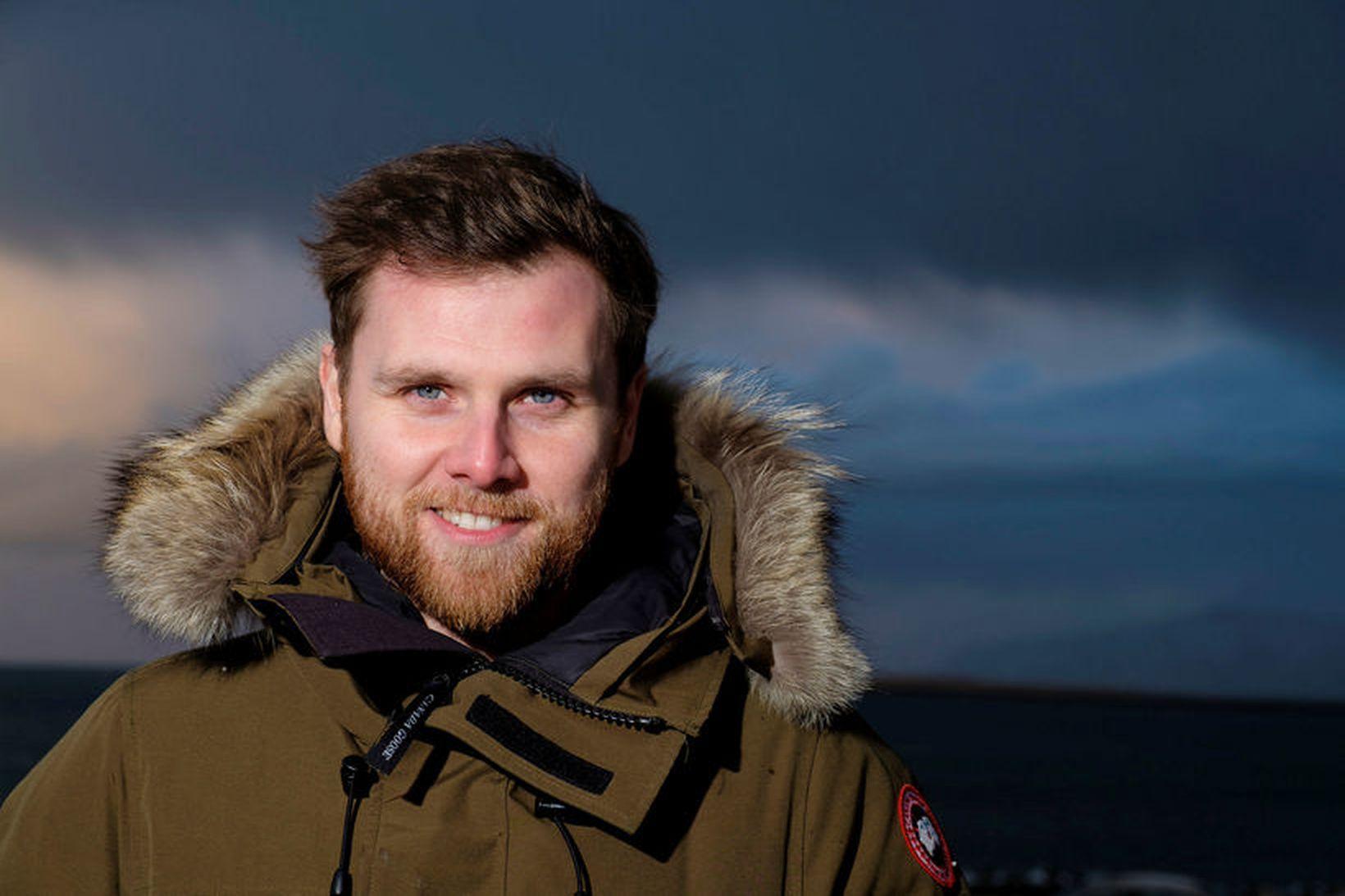 Sævar Helgi Bragason,ritstjóri Stjörnufræðivefsins.