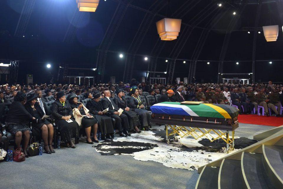 Útför Nelsons Mandela