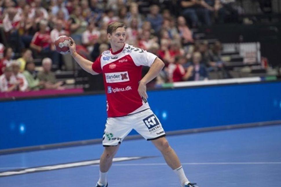 Janus Daði Smárason í leik með Aalborg.