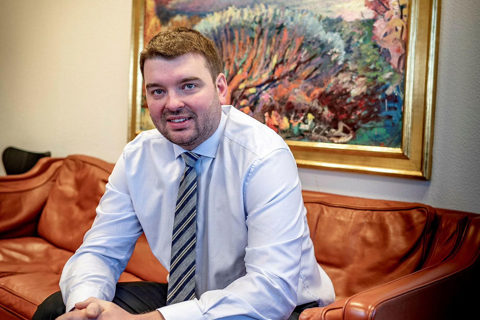 Ásmundur Einar Daðason.