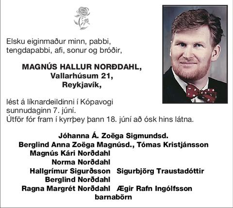 Magnús Hallur Norðdahl,