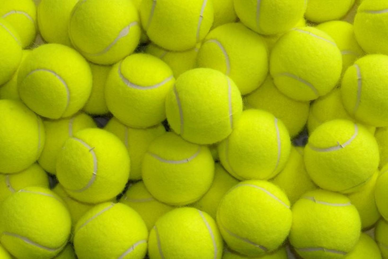 Tennisboltar eru nytsamlegir í húsverkin.