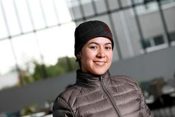 Jeimmy Andrea Gutiérrez Villanueva kom hingað sem flóttamaður frá Kólumbíu árið 2005.