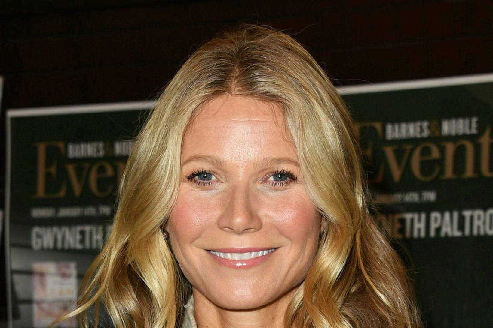 Gwyneth Paltrow skildi við barnsföður sinn.
