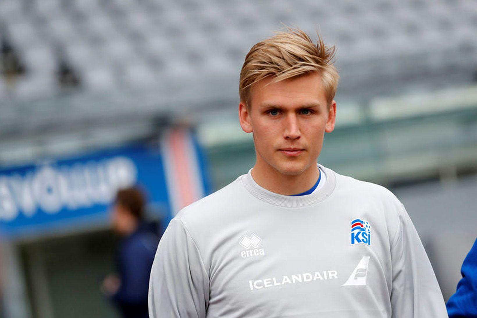 Rúnar Alex Rúnarsson.