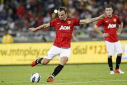 Berbatov í leik með Manchester United.