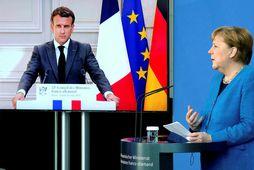 Macron og Merkel krefja stjórnvöld í Danmörku og Bandaríkjunum um skýringar.