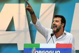 Nei segir Salvini við Nútella. Það gengur ekki að heslihneturnar séu tyrkneskar, að hans mati. …