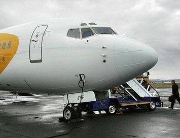 Boeing 737-800 farþegaþota flugfélagsins Primera Air.
