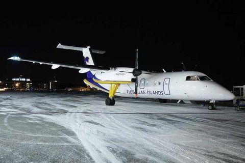 An Air Iceland aircraft.