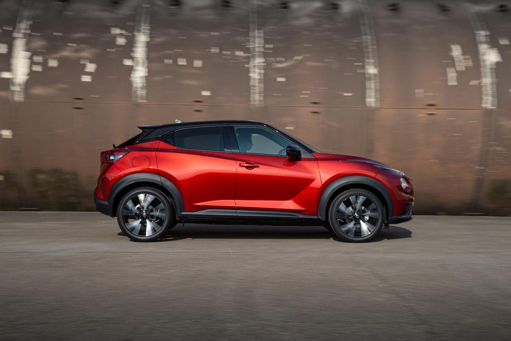 Hinn nýi Nissan Juke hefur tekið talsverðum útlitsbreytingum.