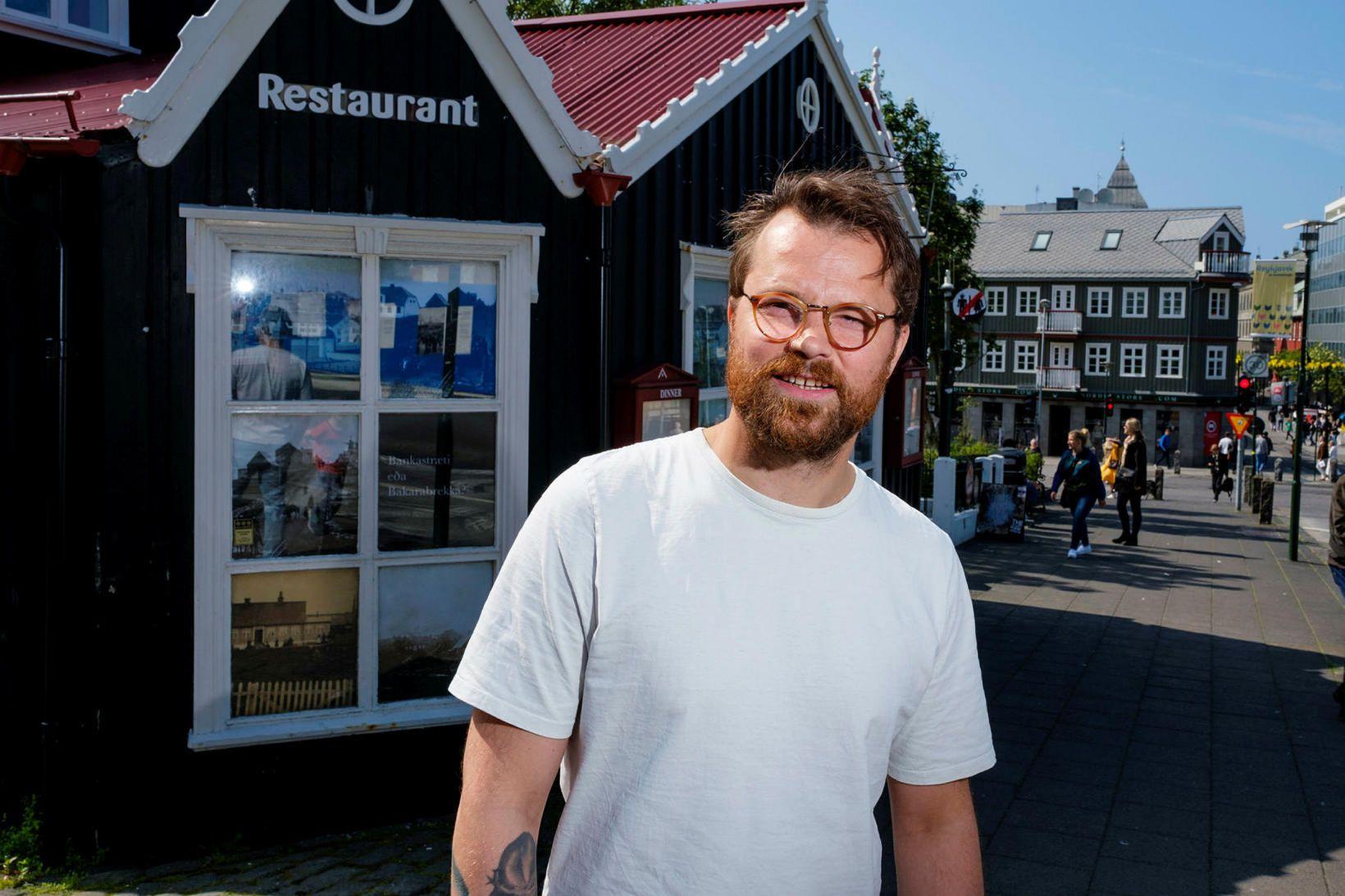 Ágúst Einþórsson bakari segir staðsetninguna í Bankastræti henta vel.