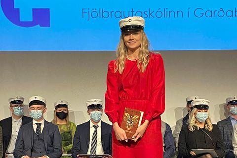 Sigurbjörg Eiríksdóttir dúxaði.