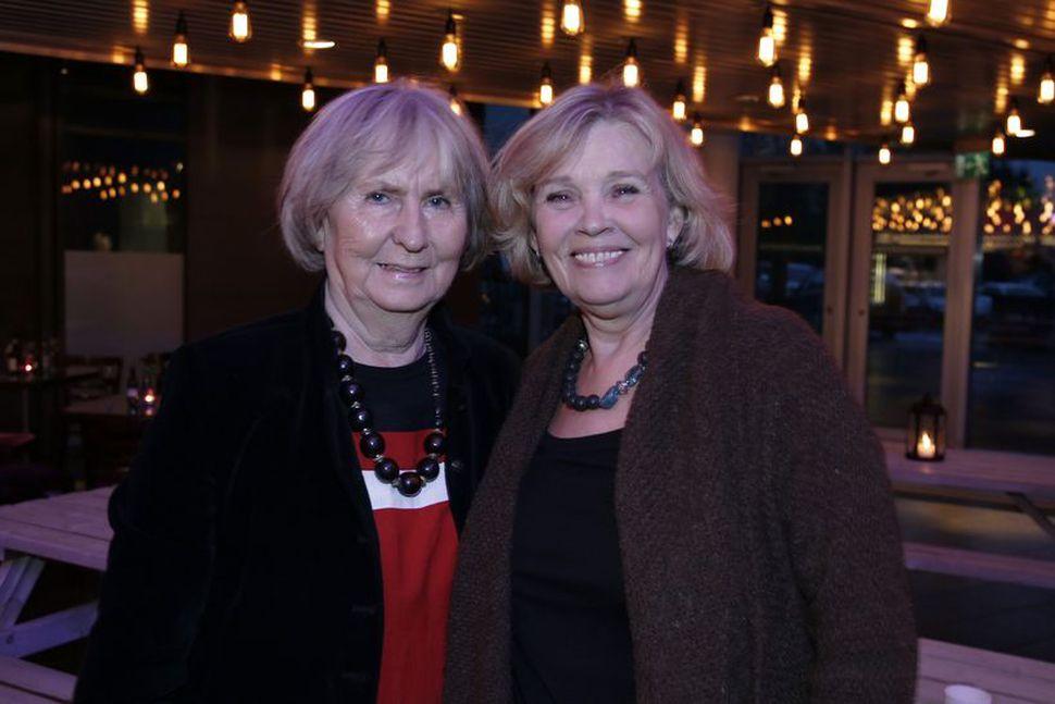 Jónína Mikaelsdóttir og Inga Jóna Þórðardóttir.