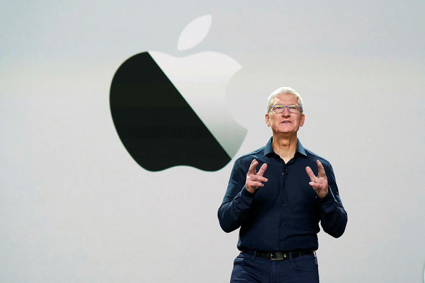 Tim Cook, forstjóri Apple.