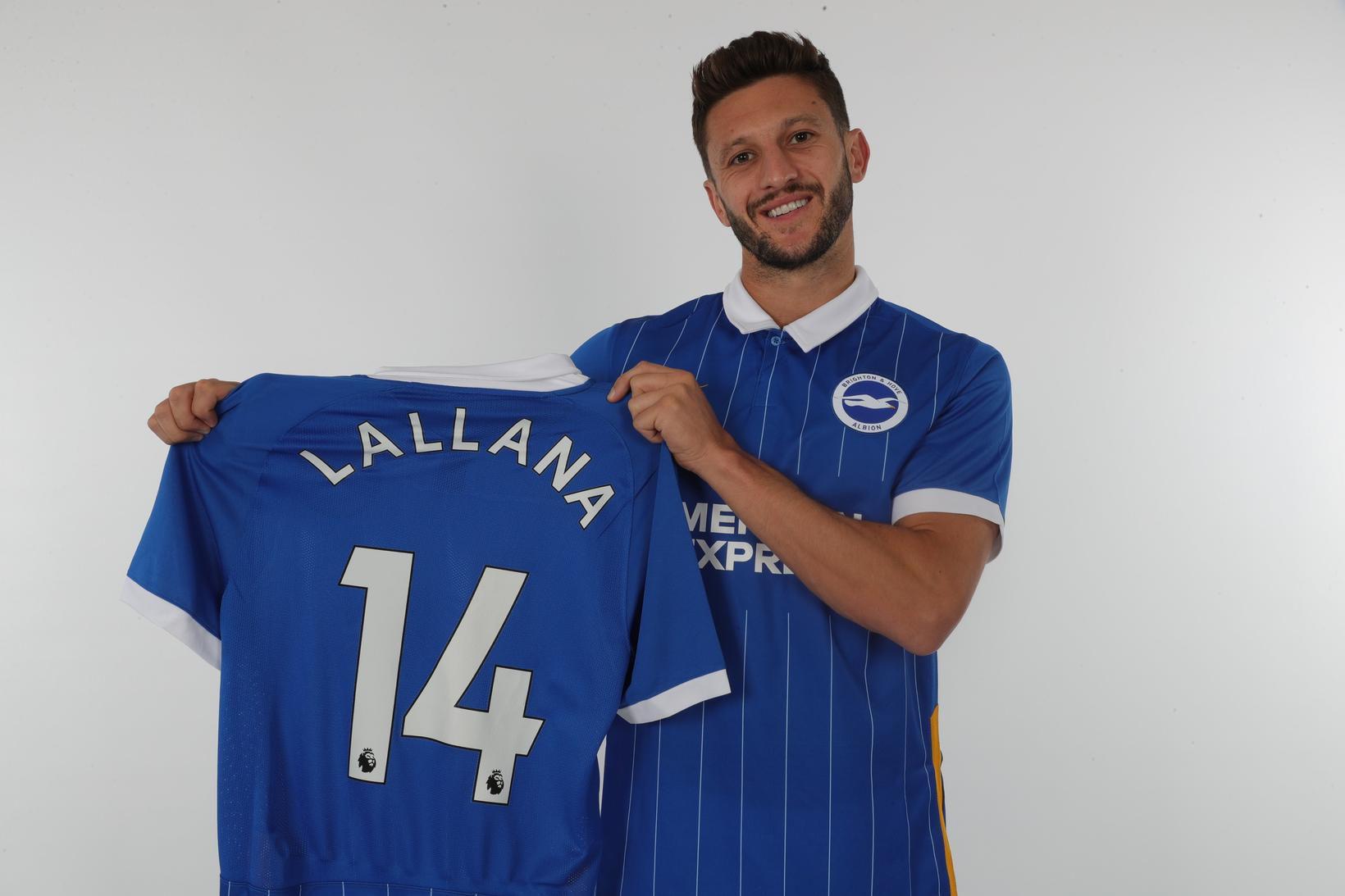 Adam Lallana er orðinn leikmaður Brighton.
