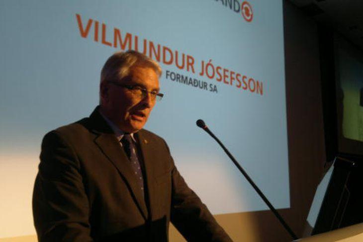 Vilmundur Jósefsson, formaður Samtaka atvinnulífsins