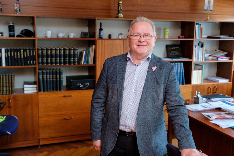 Ingi Ólafsson hefur verið skólameistari Verzlunarskólans frá árinu 2007.