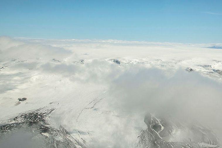Bárðarbunga in the Vatnajökull glacier.