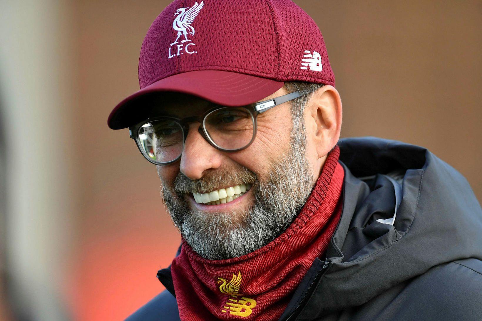 Jürgen Klopp nýtur mikilla vinsælda í Liverpool.