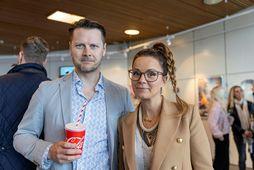 Benedikt Einarsson og Birgitta Haukdal.