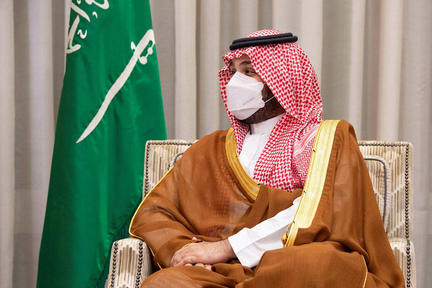 Krónprins Sádi-Arabíu, Mohammed bin Salman, er yfir fjárfestingasjóði ríkisins.